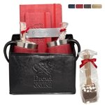 Promotional Casablanca™ Journals, Coffee Cups & Hot Cocoa Gift Set