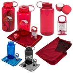Promotional Refresh 4-piece Workout Gift Set