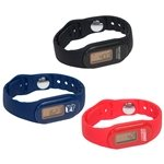 Promotional Tap N' Read Fitness Tracker Pedometer Watch