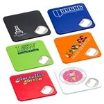 Promotional Econo Bottle Opener Coaster