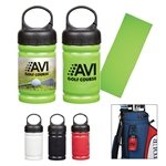 Promotional Cooling Towel In Carabiner Case