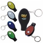Promotional Dual Function Whistle and Keylight