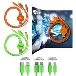 Promotional 3 In 1 Multi USB Charger