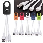 Promotional Power-Up Squid 3-in-1 Charging Cable