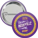 Promotional 1-1/2 Round Safety Pin Button