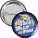 Promotional 3 Round Safety Pin Button