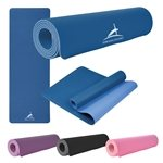 Promotional Two-Tone Double Layer Yoga Mat
