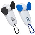 Promotional Handy Breeze Portable Fan & Light