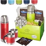 Promotional Tuscany™ Thermal Bottle & Cups Ghirardelli® Cocoa Set