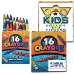 Promotional 16 Pack Crayons