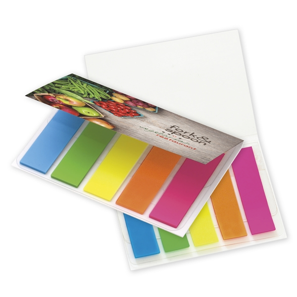 Promotional BIC(R) Mylar Flag Booklet