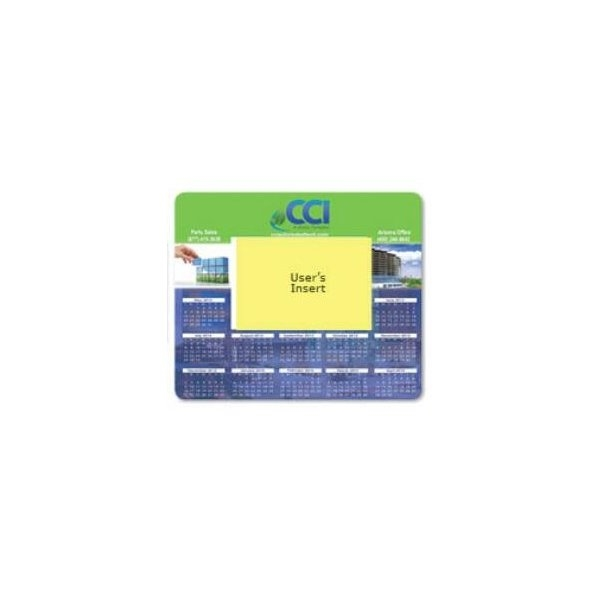 Promotional .020 Barely There(TM) Base + Vynex Surface Frame - It(R) Window Mouse Pads, .020 x 7.5 x 8