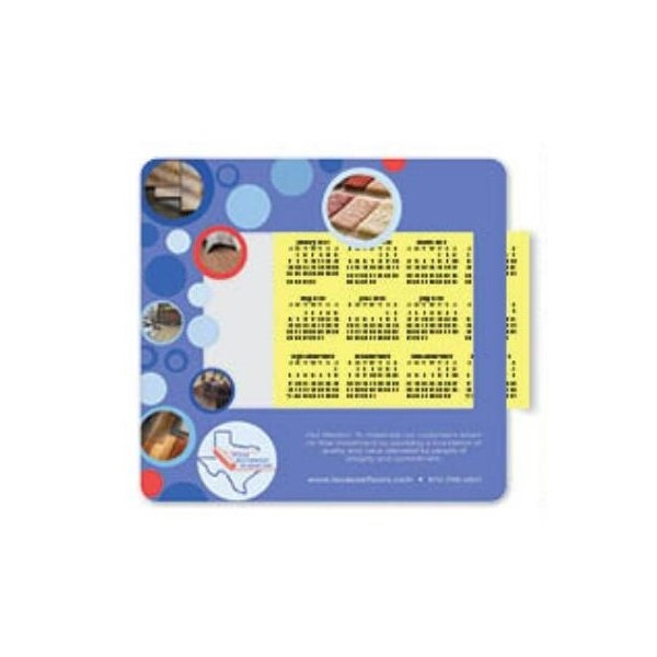 Promotional .020 Barely There Base + Vynex Surface Frame - It(R) Window Mouse Pads, .020 x 8 x 9