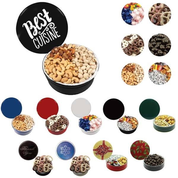 Promotional The Grand Tin - Mixed Nuts, Pistachios, Cashews