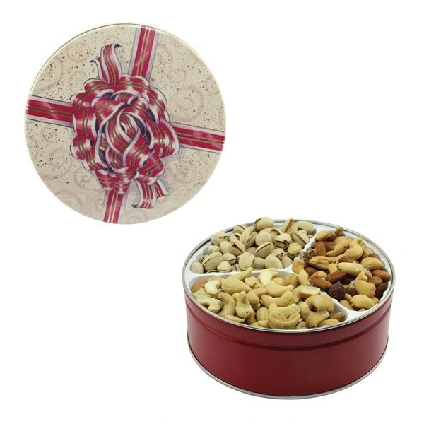 Promotional The Royal Tin - Mixed Nuts, Pistachios, Cashews