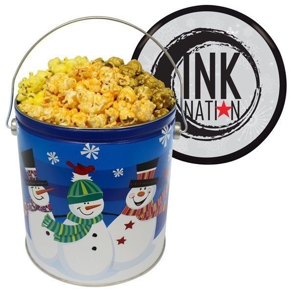 Promotional One Gallon Popcorn Tin