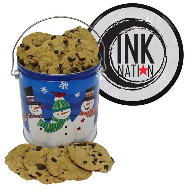 Promotional One Gallon Cookie Tin