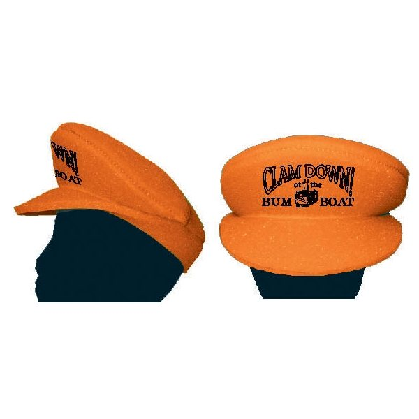 Promotional Foam Captian / Yachting / Police / Chauffeur / Cabble / Pilot / Greek Fisherman / FiddlerS Hat.