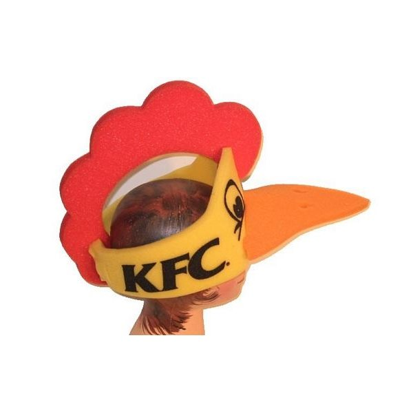 Promotional Foam Chicken Hat