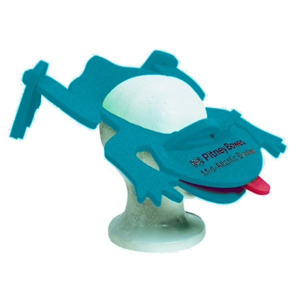 Promotional Foam Frog Visor Hat