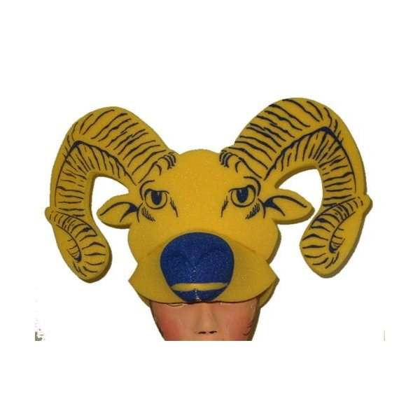 Promotional Foam Ram Head Hat