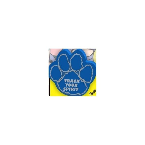 Promotional 12.5 Paw Print Mitt W / Outlined Pads