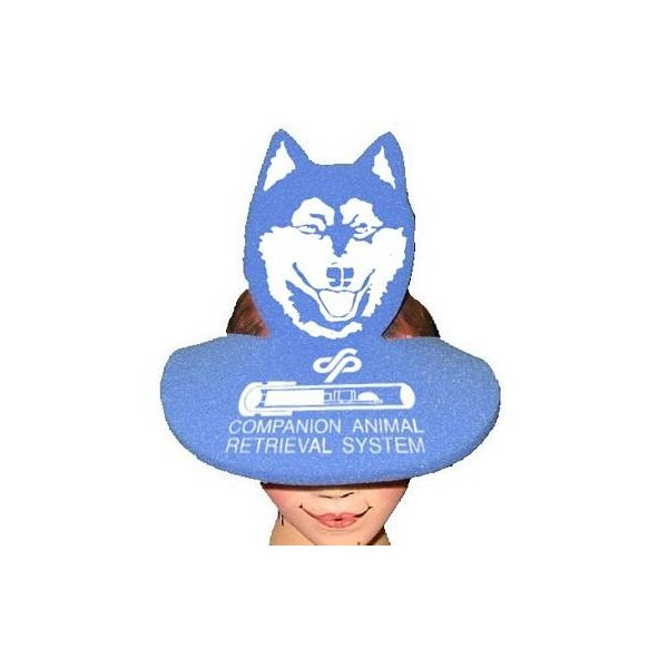 Promotional Dog Head Pop - Up Visor