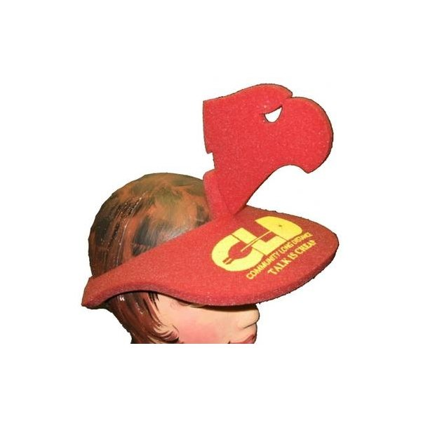 Promotional Eagle Head Pop - Up Visor