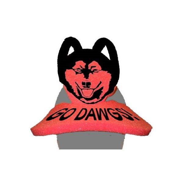 Promotional Husky Pop - Up Visor