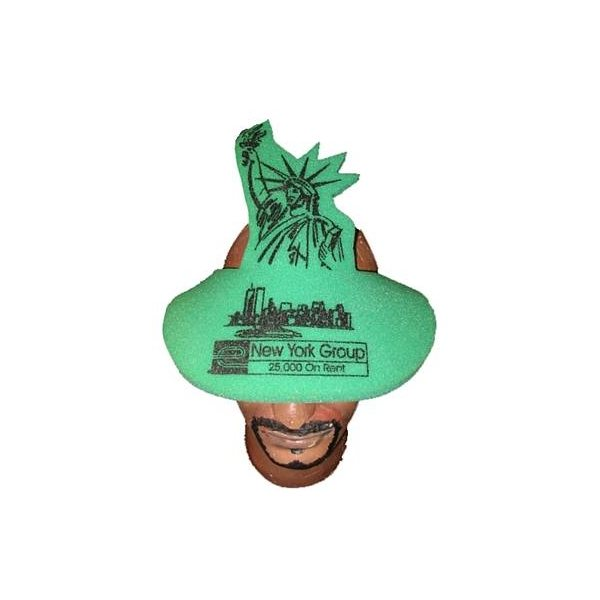 Promotional Statue Of Liberty Pop - Up Visor