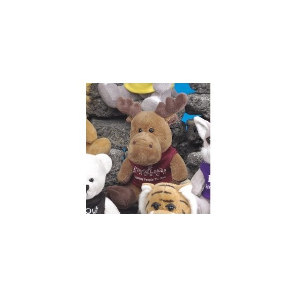 Promotional Q - Tee Collection (TM) - Moose - Cute 5 stuffed animal.