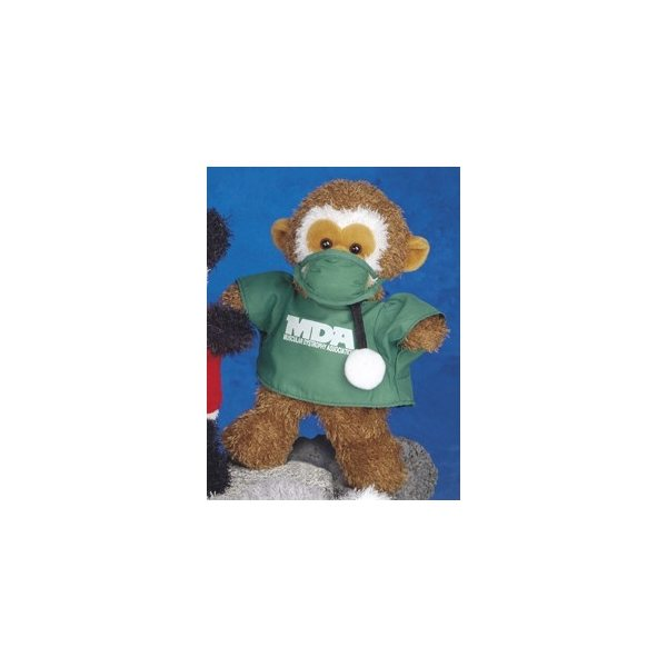 Promotional Ruddly (TM) - Stuffed monkey, 10.