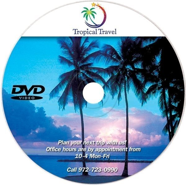 Promotional DVDR - Blank / Recordable, Full Color Digital