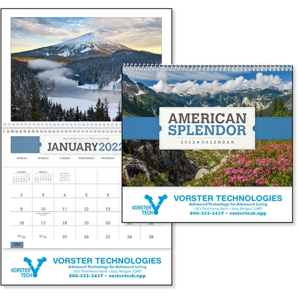 Promotional American Splendor Pocket - Triumph(R) Calendars
