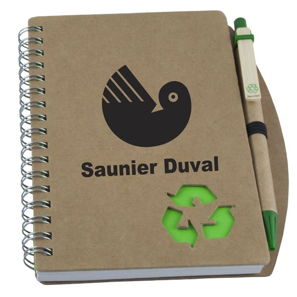 Promotional Recycled Spiral Bound Notebook