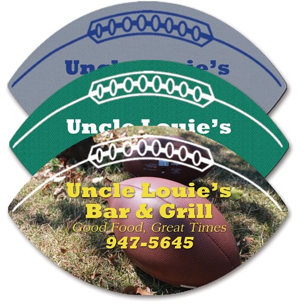 Promotional Football - Shaped Rubber Jar Opener