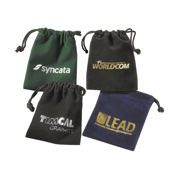 Promotional Golf Gift Set In Velour Bag