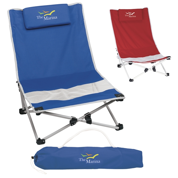 Mesh Beach Chair Advertising Specialties Folding Chairs