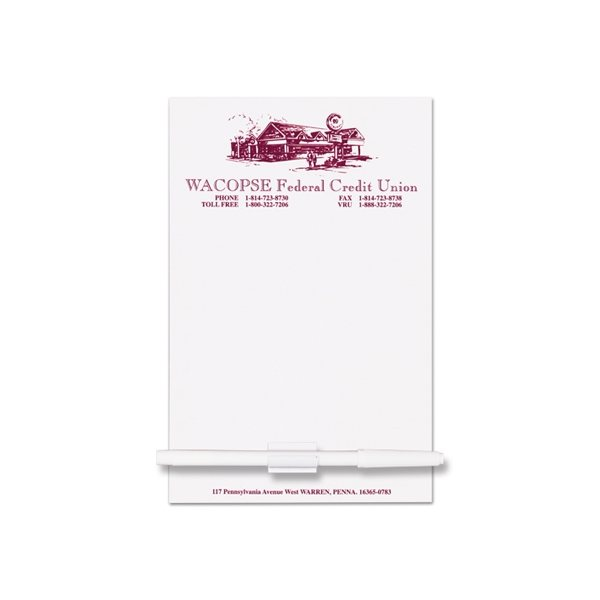 Promotional Rectangle Memo Board - 5 1/2 X 8 1/2