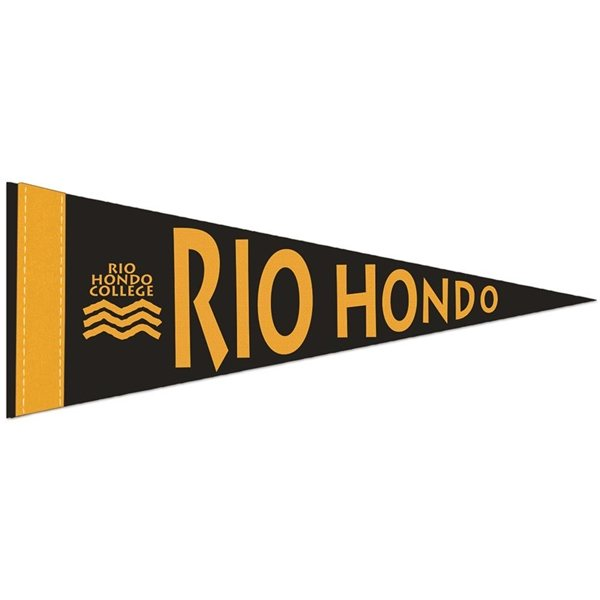 Promotional 1 Sewn Strip Colored Pennant - 4 X 10