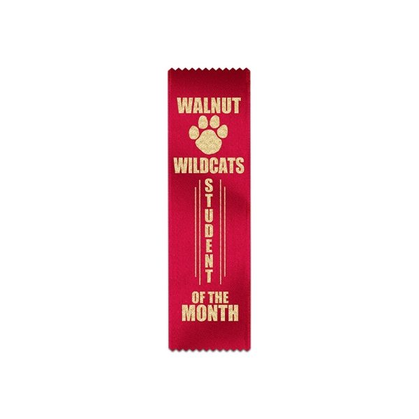 Promotional Custom Ribbon - 3 X 10