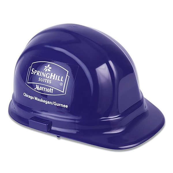 Promotional Decal Imprinted Hard Hat - Hard Hat - 2 Sides (B)