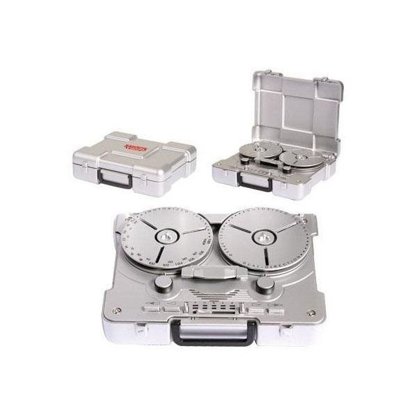 Promotional Retro - Style Reel - to - Reel AM / FM Radio with Motorized Tuning