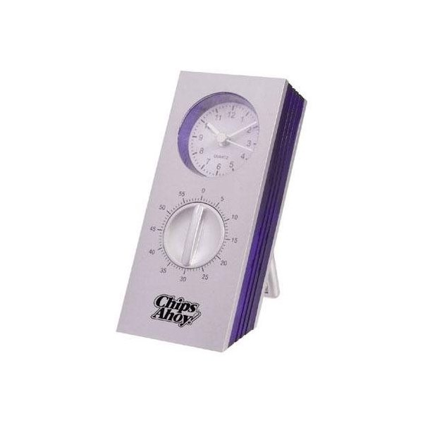 Promotional 60- Minute Kitchen Timer with Clock