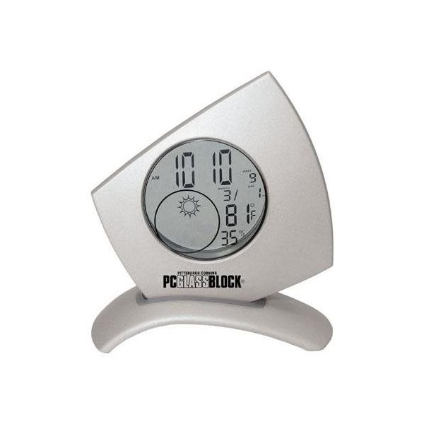 Promotional Die - Cast Transparent Weather Station with Light