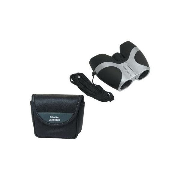 Promotional 8x21 Pocket Binoculars with Deluxe Case
