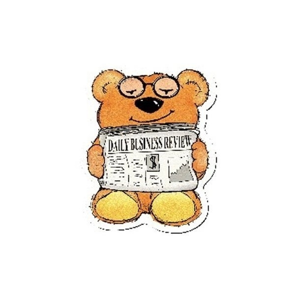 Promotional Newspaper Bear - Design - A - Bear(TM)