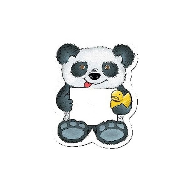 Promotional Panda Bear w / Rubber Ducky - Design - A - Bear(TM)