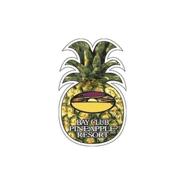 Promotional Pineapple - Die Cut Magnets