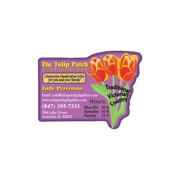 Promotional Tulips - Die Cut Magnets